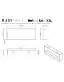 INSERTABLE XXL RUBY FIRES