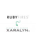 INSERTABLE FONDO LADRILLO + QUEMADOR GRANDE RUBY FIRES XARALYN