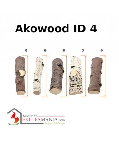 TRONCOS DECORATIVOS AKOWOOD ID 4 MIX