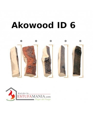 TRONCOS DECORATIVOS AKOWOOD ID 6 MIX