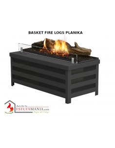 BASKET FIRE LOGS PLANIKA