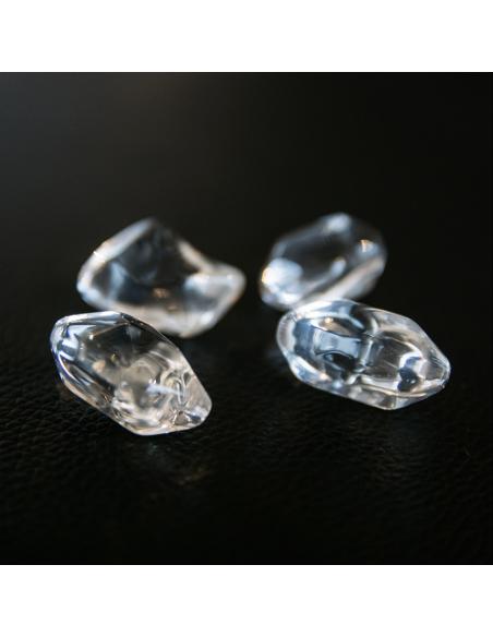 piedras vidrio transparentes Kratki