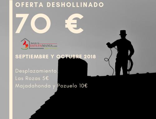 Oferta Deshollinado Las Rozas, Pozuelo y Majadahonda